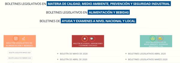 BOLETINES LEGISLATIVOS MAYO 2020