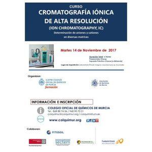 Cartel Cromatografia Ionica