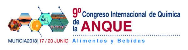 9º CONGRESO INTERNACIONAL DE QUÍMICA DE LA ANQUE. ALIMENTOS Y BEBIDAS