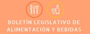 Boletín leg. Alimentación y Bebidas