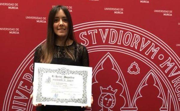 La murciana María Arnaldos obtiene el primer puesto en la prueba nacional del QIR 2017.