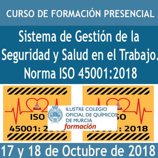 CURSO SISTEMA DE GESTIÓN DE LA SEGURIDAD Y SALUD EN EL TRABAJO. NORMA ISO 45001:2018