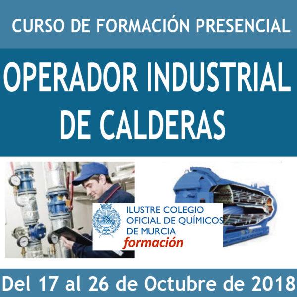 CURSO OPERADOR INDUSTRIAL DE CALDERAS