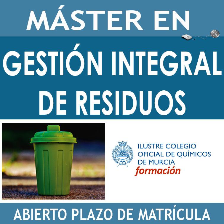 Caja mASTER Gestión Integral de REsiduos