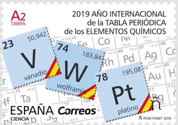 CIENCIA. 2019 Año Internacional de la Tabla Periódica de los Elementos Químicos
