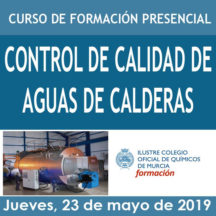CAJA CONTROL DE CALIDAD DE AGUAS DE CALDERAS