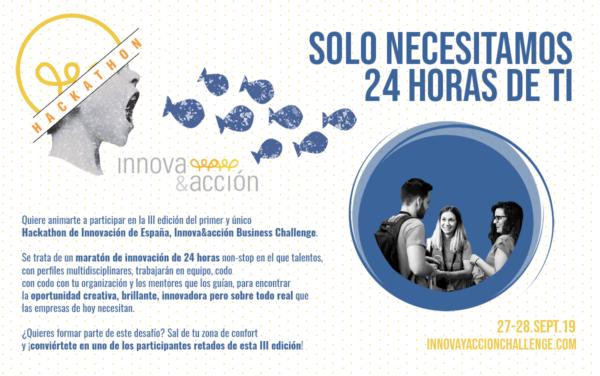 III edición Hackathon Innova&Acción Business Challenge