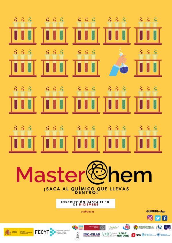 MasterChem, concurso con el que se desea fomentar las vocaciones científicas en la Región.