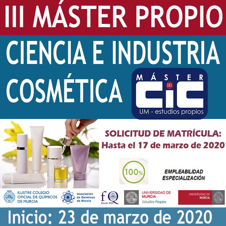 Caja III MÁSTER DE COSMÉTICA 2020
