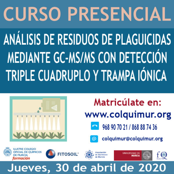 ANÁLISIS DE RESIDUOS DE PLAGUICIDAS MEDIANTE GC-MS/MS CON DETECCIÓN TRIPLE CUADRUPLO Y TRAMPA IÓNICA