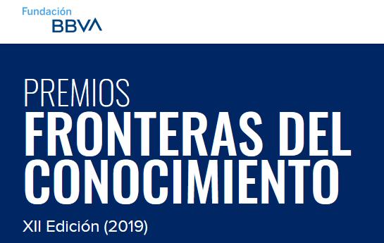 PREMIOS FRONTERAS DEL CONOCIMIENTO - BBVA