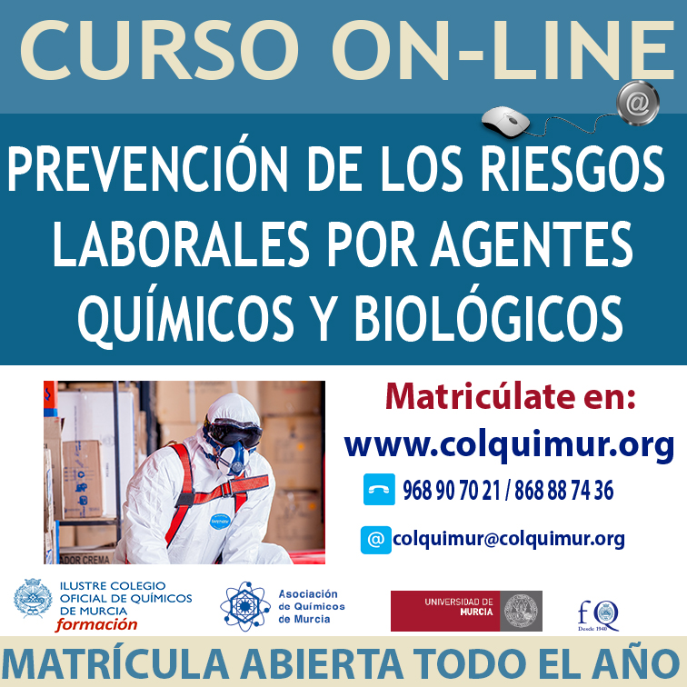 CAJA Prevención de los Riesgos Laborales por Agentes químicos y Bio