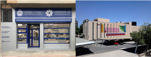 El Colegio Oficial y Asociación de Químicos de Murcia, cierran al público sus sedes, pero ha activado un sistema de teletrabajo entre el personal