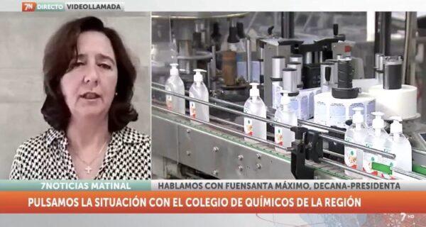 Entrevista a Fuensanta Máximo en la 7 Televisión COVID19