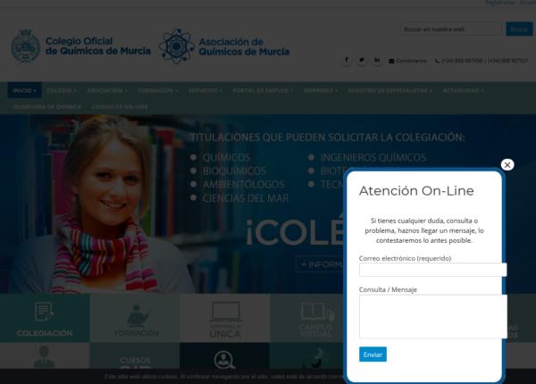Nuevo servicio de atención online en nuestra página web