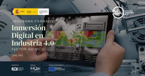 Formación   Inmersion Digital en Industria 4.0
