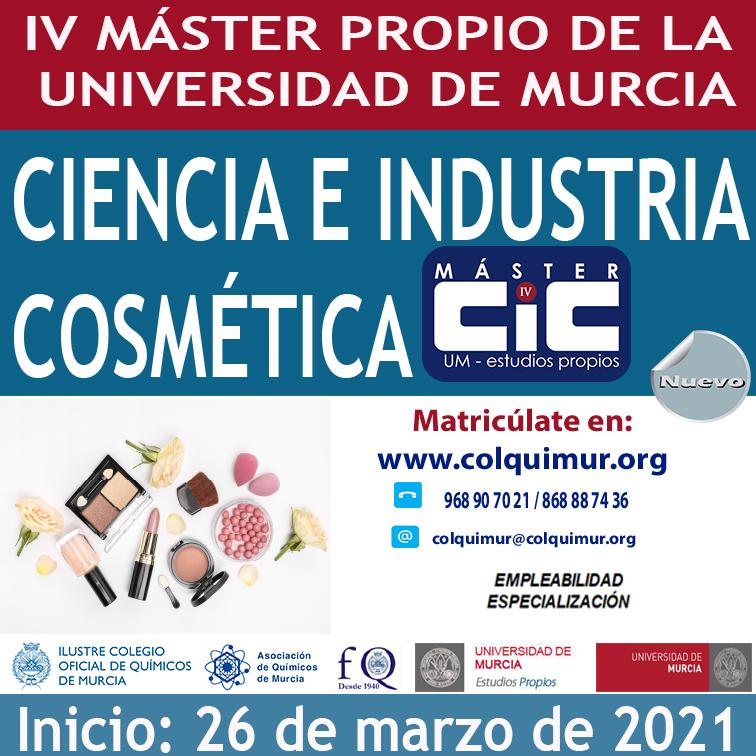 Caja IV MÁSTER DE COSMÉTICA 2021